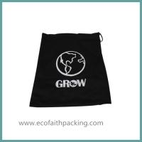 Wholesale shoes bag with cotton fabric, shoes drawstring bag, shoes canvas bag from china suppliers