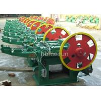 Buy cheap Polished Surface Nail Production Machine 50% Rated Duty Cycle Hydraulic Pressure from wholesalers