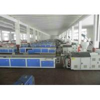 Wholesale PVC Skirting Plastic Board Machine , Cabinet Wpc Board Production Line from china suppliers