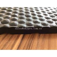 8mm-20mm Thickness Bubble Coin Interlocking Cow Horse Stable Rubber Mat Shock