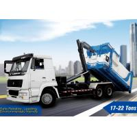 Wholesale XCMG Hooklift Truck, sanitation truck, Hook Arm Garbage Truck XZJ5250ZXX for loading garbage from china suppliers