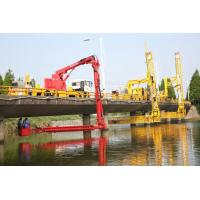Buy cheap 18m Bucket type Bridge Inspection truck Easy Access  Easy Operation Safety from Wholesalers
