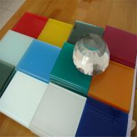 Buy cheap 8mm white painted glass from Wholesalers
