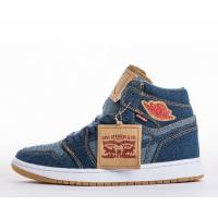 Wholesale Wholesale Levi's x Air Jordan 1 Retro NRG Denim Basketball Shoes & Sneakers for Sale from china suppliers