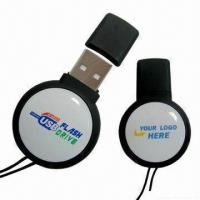 Wholesale Resin Logo USB2.0 Flash Drive with High-speed Data Transfer Performance and Bright Surface from china suppliers