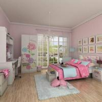 Wholesale Kids' Wooden Bedroom Furniture, E0 Grade, MDF, with Wardrobe, Nightstand, Cartoon Figure Design from china suppliers