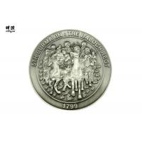 Wholesale Coast Guard Engraved Custom Challenge Coins Silver Collector Coins Embossed Logo Printed from china suppliers