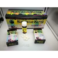 Wholesale Savage King Powerfulk Natural Male Enhancement Pills Prolong Erection Rock Harder from china suppliers