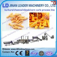 Wholesale snack food machine Kurkure snack extruding machine corn snacks extruder machine from china suppliers