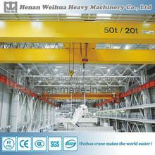 20 ton capacity Overhead crane with hook