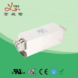 Wholesale Yanbixin 50A Terminal Block RFI Power Filter / Mains Rfi Filter Metal Case from china suppliers