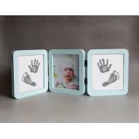 Wholesale Personalised Wooden Photo Frames , Luxury Triple Picture Frame Logo Printed from china suppliers