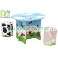Wholesale New Design Folding Cardboard Mushroom Table and Chairs for Kids from china suppliers