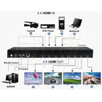 Wholesale HDMI Video Wall Controller Viewer Matrix Multi Switch Support 4K 30HZ from china suppliers