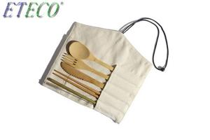 Wholesale Reusable Cutlery Biodegradable Tableware Set Eco-Friendly Bamboo Dinnerware Set from china suppliers