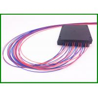 Buy cheap 4pcs 1*2 Single Mode Fiber Coupler SM Fused Optical Splitter in 100*80*10mm box with 0.9mm cable from wholesalers