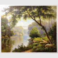 Buy cheap Paintings Of Landscapes Scenery Fresh Forest Modern Abstract Wall Art Oil from wholesalers