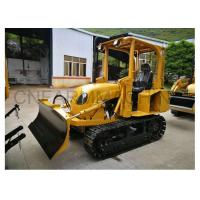Wholesale New Streamlined 35hp Mini Bulldozer Manual Clutch Compact Dozer with Six-Way Blade from china suppliers