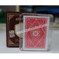 Buy cheap GYT Texas Holdem Plastic Back Side Marked Playing Cards For UV Contact Lenses from Wholesalers
