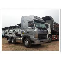 Wholesale CHINA Howo  375 HP / 420 HP  heavy prime mover / tractor head  with air deflector and ABS from china suppliers
