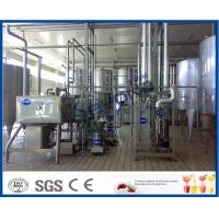 China Milk And Milk Products Processing Dairy Plant Machinery , Milk Dairy Equipments on sale