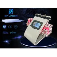 Wholesale Cavitation Vacuum Lipolaser RF Beauty Machine No Pain Treatment For Body Contouring from china suppliers