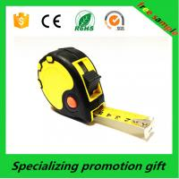 Wholesale Red button yellow tape steel Retractable Tape Measure with TPR coating from china suppliers