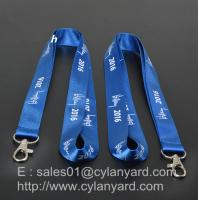 Printed Nylon lanyard for ID badge holder