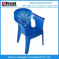 Quality Outdoor plastic chair injection mould maker in China for sale