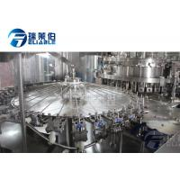 Wholesale Electrical Control Carbonated Drink Filling Machine Slim Bottle Beverage Filling Equipment from china suppliers