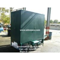 Mobile Insulation Oil Purifier/ Oil Decolorization/Oil Purification and Filtration Machine