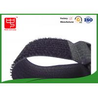 Buy cheap 40mm Width one sided velcro strap , releasable cable ties Nylon / polyester Material from Wholesalers
