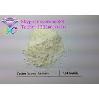 Canada/USA Stock Good quality Testosterone acetate powder Testosterone bodybuilding steroid CAS: 1045-69-8