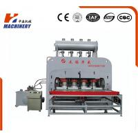 Wholesale PLC Controls Flooring Laminate Hot Press Machine For Pressing V Groove from china suppliers