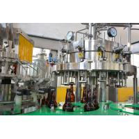 Wholesale Full - Automatic Carbonated Drink Bottling Machine For Glass Bottles 8000BPH from china suppliers