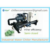 Wholesale 80kw~340kw Cooling Capacity Water Cooled Screw Water Chiller from china suppliers