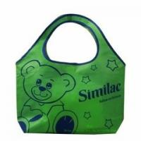 Wholesale Green Color Non Woven Fabric Bags for Shopping Strong Tensile Strength from china suppliers