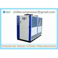 Wholesale 5HP 10HP 20HP 30HP R404A R410A Copeland Compressor Brewery Air Cooled Glycol Chiller from china suppliers