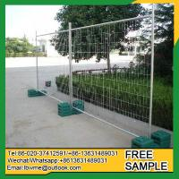 Buy cheap Joplin even boundary fence temporary welded wire mesh fencing from wholesalers