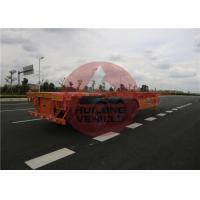 Quality 3 Axle Container Delivery Trailer 40 Feet Container Hauler Trailer Enough for sale