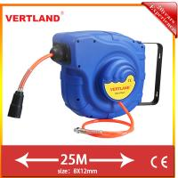 Buy cheap Auto Rewind Wall Swivel Mounted Retractable Hose air hose reel GQ250B 25m 5/16 from wholesalers