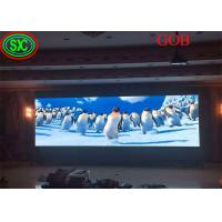 Wholesale Fixed Led Display video wall led tv backdrop GOB COB technology with CE ROHS FCC CB Certificates from china suppliers
