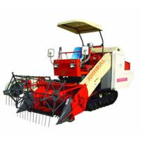 Wholesale Most Popular self-propelled fullfeeding rice combine harvester 4LZ-1.0 paddy/dryland grain from china suppliers