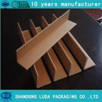 Wholesale Paper Angle Bead  High Strength Kraft Paper Corner boards for pallets from china suppliers