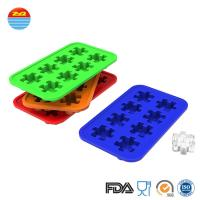 Wholesale Custom Creative Funny Interesting Cute Design Puzzle Shape Ice Cube Maker Mould Silicone Ice Tray Mold from china suppliers