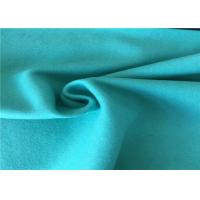 Buy cheap 57/58 Inch Width Woven Wool Fabric Green Color OEM / ODM Acceptable from Wholesalers