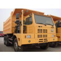 Left Driving Heavy Dump Truck For Mining 420 HP Engine Power HF12 Front Axle