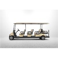 Max Speed 25Km/h Electrical Golf Carts With CE Certification For 8 Passengers