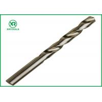 Wholesale Bright Finish HSS Drill Bits For Hardened SteelDIN 338 Straight Shank Left Hand twist drill bits from china suppliers