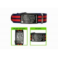 Wholesale Engraved Sport ID Bracelet Customized Nato Strap ID Bracelets For Men from china suppliers
